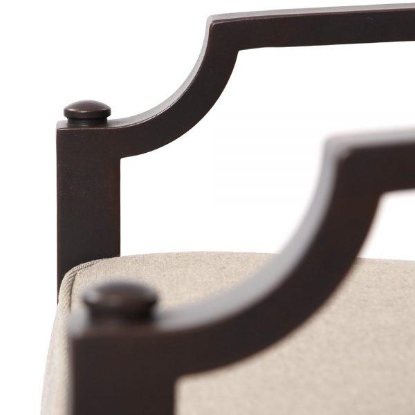 Sunvilla Bellevue aluminum outdoor furniture with a Copperhead powder coat finish
