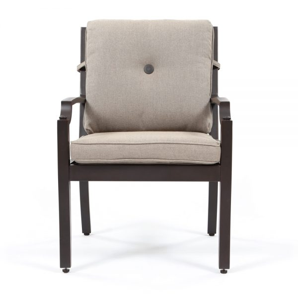 Sunvilla outdoor dining chair front view