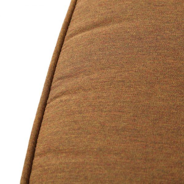 Hanamint swivel barstool with Sunbrella Canvas Teak fabric