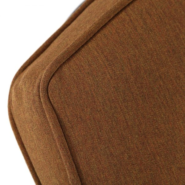 Hanamint chaise lounge with Sunbrella Canvas Teak fabric