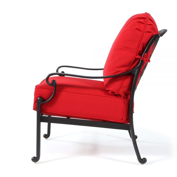 Hanamint Biscayne outdoor club chair side view