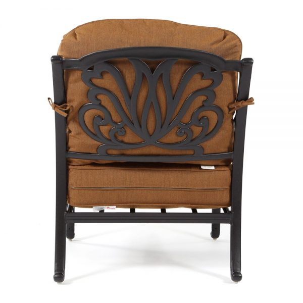 Biscayne club chair back view