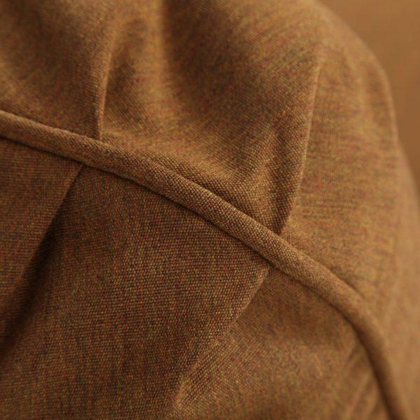Hanamint club chair with Sunbrella Canvas Teak fabric