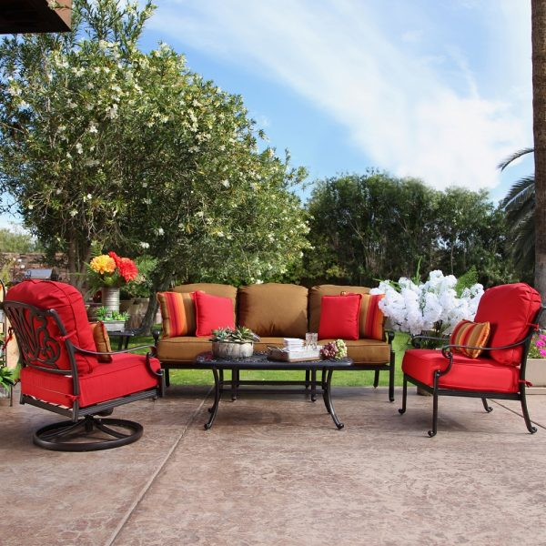 Hanamint Biscayne outdoor furniture collection