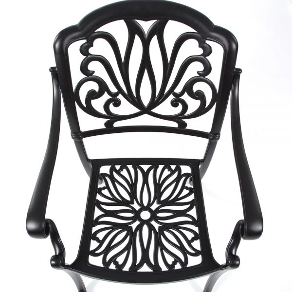 Hanamint Biscayne dining chair without cushion