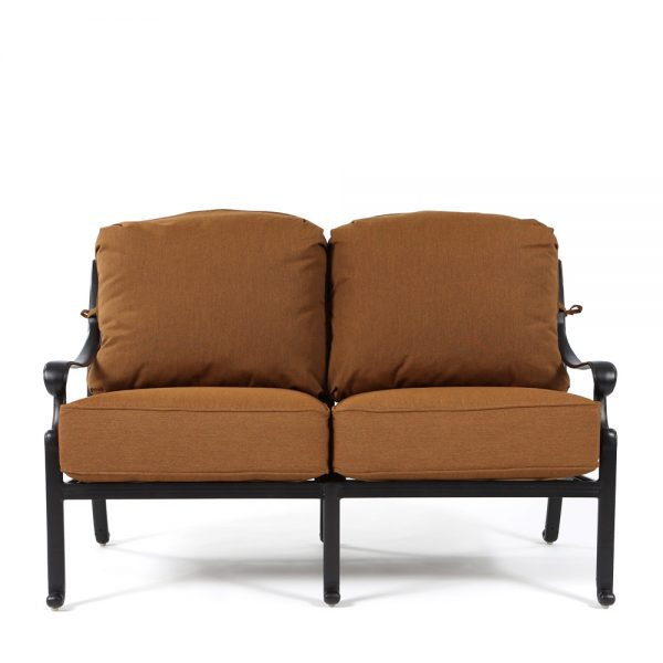 Hanamint Biscayne loveseat front view