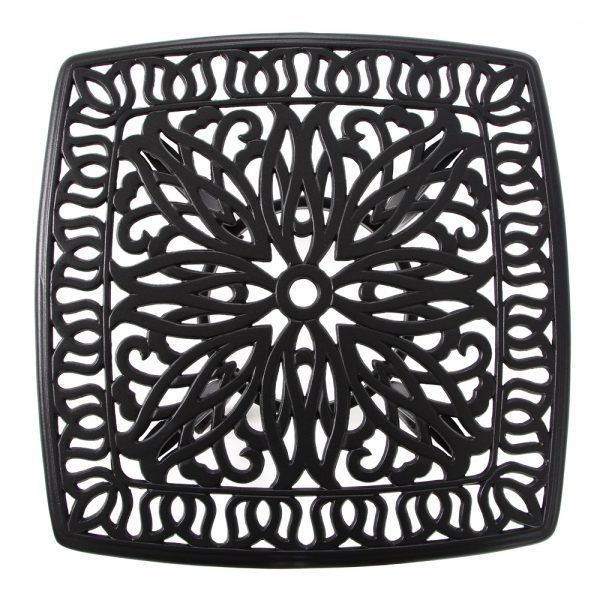 Hanamint Biscayne side table top view