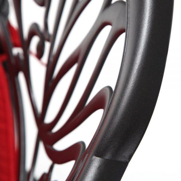 Hanamint Biscayne cast aluminum furniture with a Terra Mist finish
