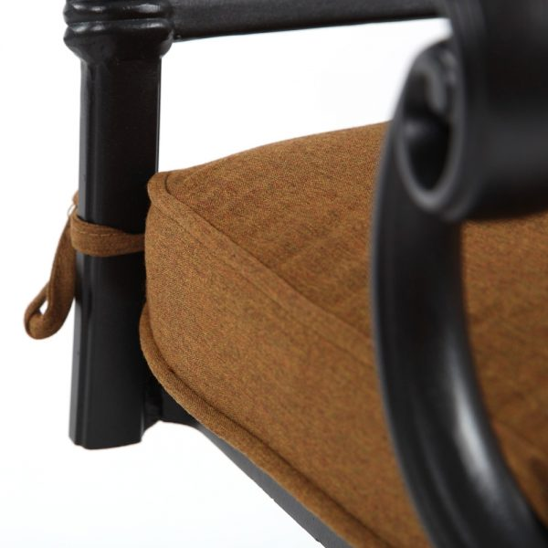 Hanamint swivel rocker with Sunbrella Canvas Teak fabric
