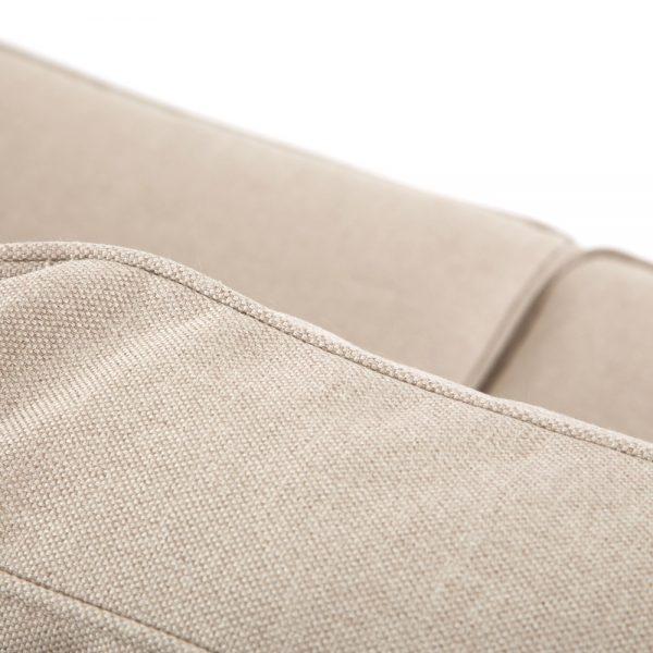 Cabo sofa with Sunbrella Blend Sand cushions
