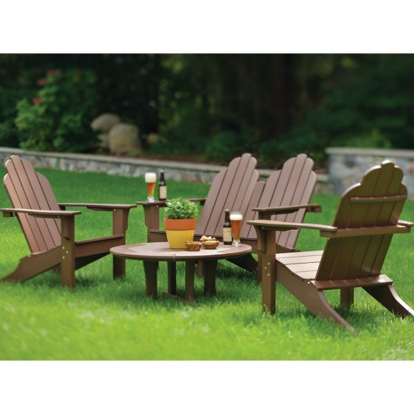 Seaside Casual classic Adirondack chair set