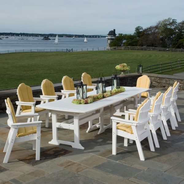 Seaside Casual classic Adirondack dining chairs