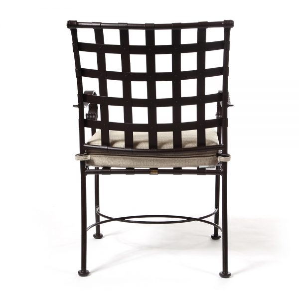 Classico outdoor dining chair back view
