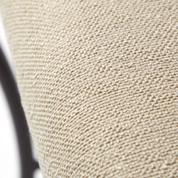 OW Lee Classico dining chair with Sunbrella Rumor Chablis fabric