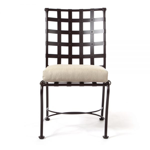 Classico patio dining chair front view
