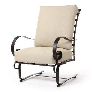 Classico high back spring base club chair