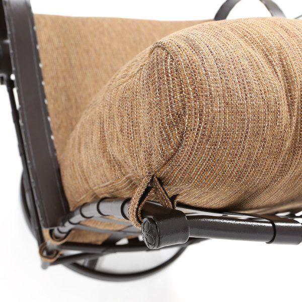 OW Lee Classico swivel rocker club chair with Jive Oak Sunbrella cushions