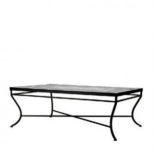 Neille Olson single tier rectangle coffee table base