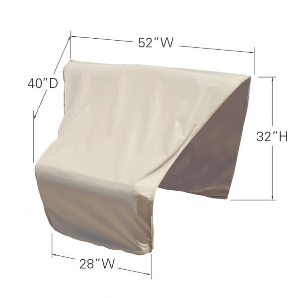 CP406-C Sectional or modular wedge corner (center) cover dimensions
