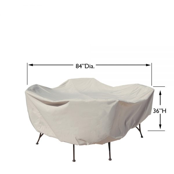 """CP551 48"""" round table & chairs cover dimensions"""
