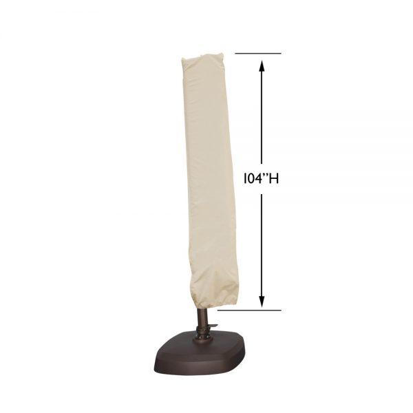 CP920 AKZ & AKZSQ series cantilever umbrella cover dimensions
