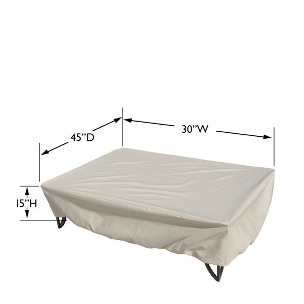 CP923 Oval or rectangle occasional table cover dimensions