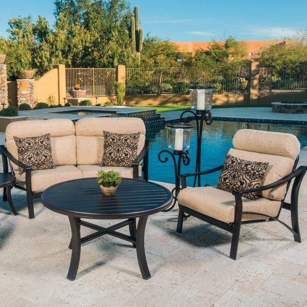 Tropitone aluminum patio furniture