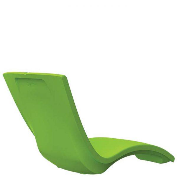 Tropitone chaise lounge back view