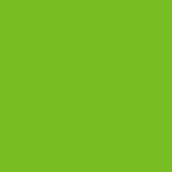 Tropitone Bright Green finish color