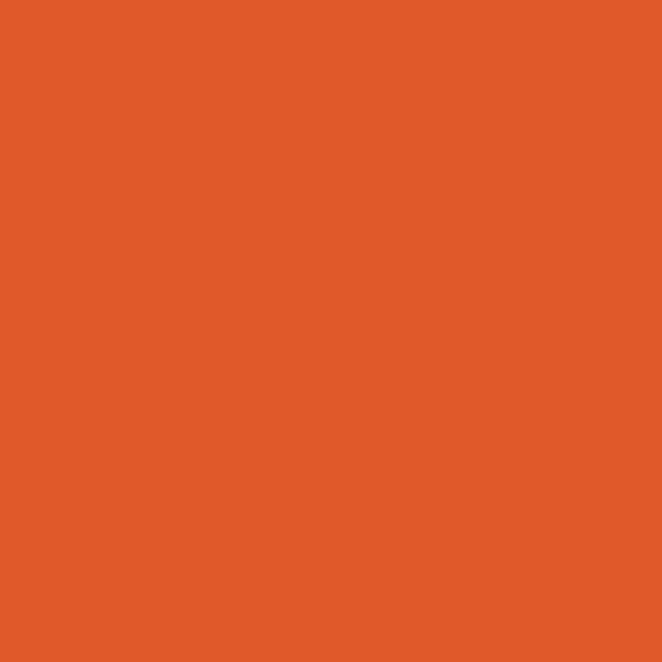 Tropitone Bright Orange finish color