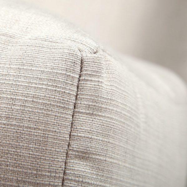 Destin sofa with Sunbrella Echo Ash cushions