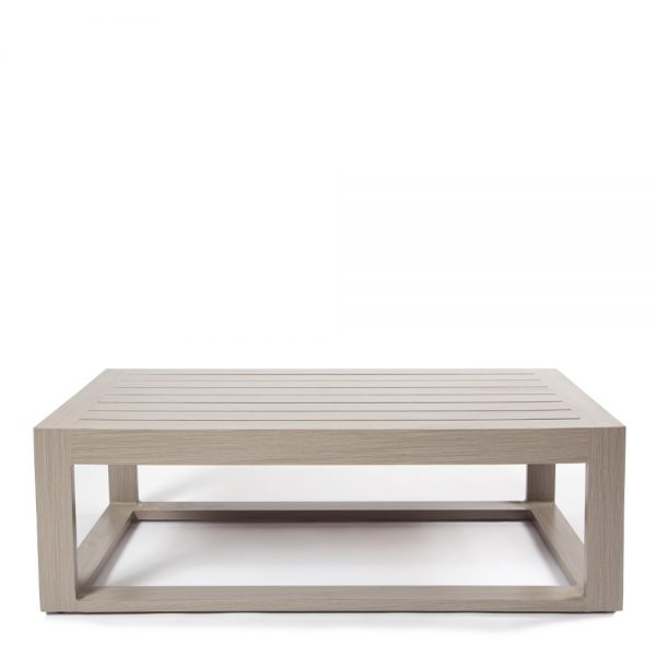 """Destin 48"""" x 26"""" coffee table front view"""