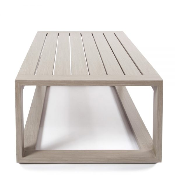 Destin outdoor coffee table side view