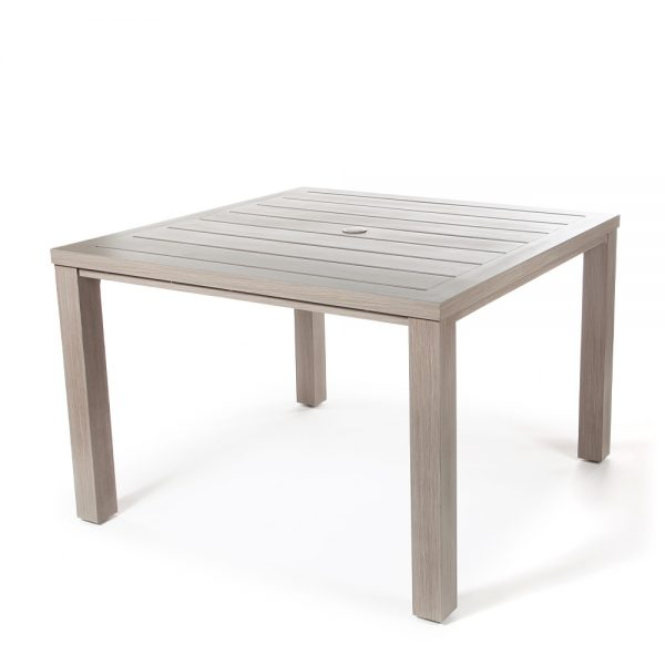 "Destin 43"" square dining table"