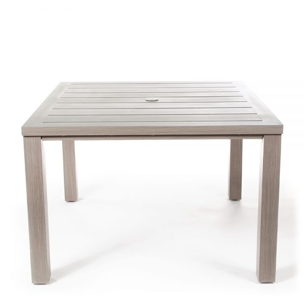 Destin outdoor dining table from view