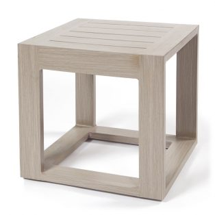 "Destin 19"" square end table"