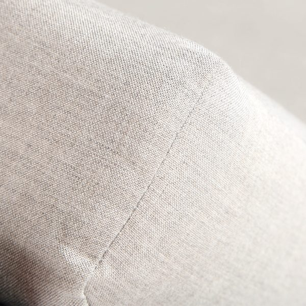 Denmark lounger with Sunbrella Cast Silver cushions