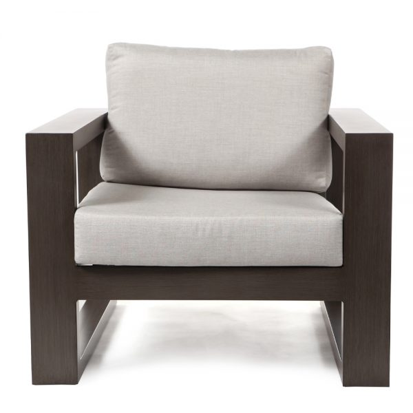 Denmark club chair front view