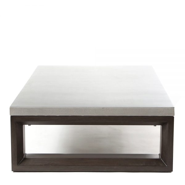 Denmark outdoor coffee table side view
