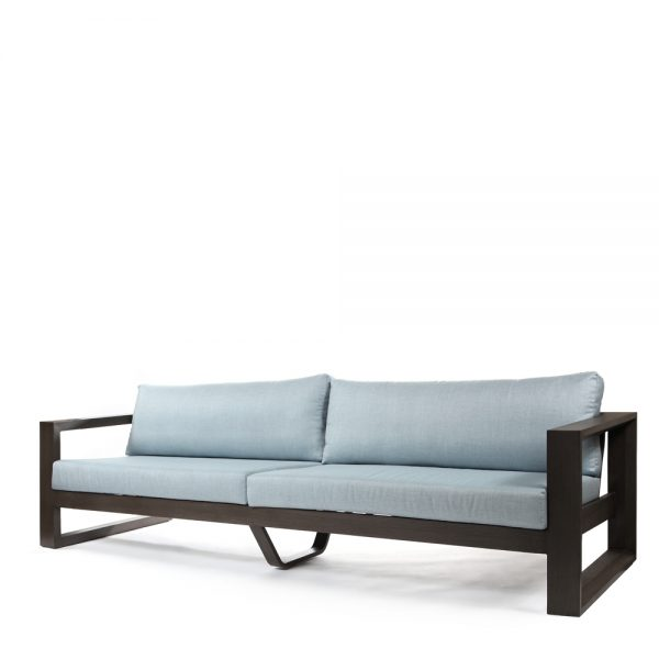 Denmark 3.5 seater sofa with Idol Frost cushions