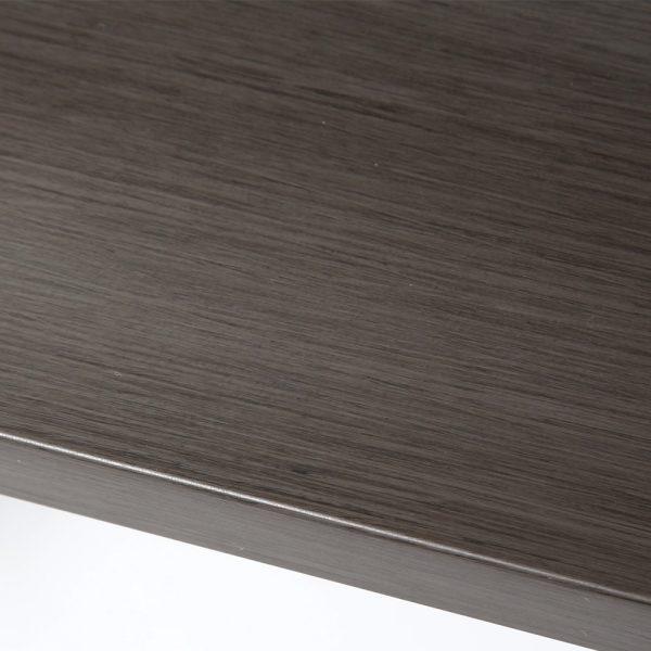 Denmark aluminum sofa with an Ash Grey finish