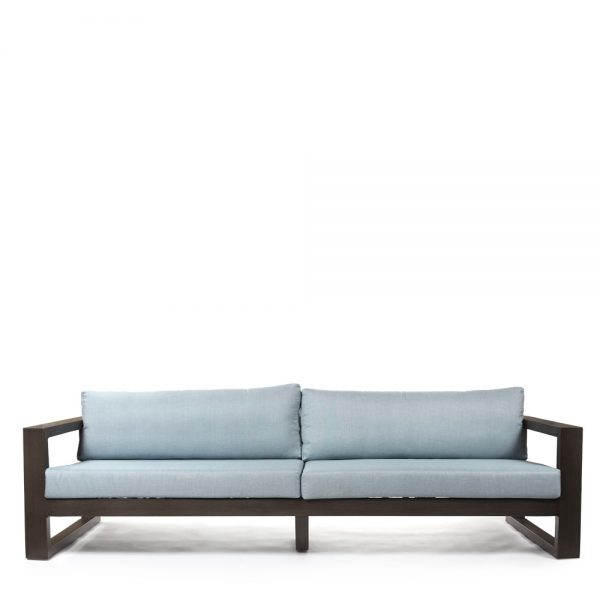 Denmark large outdoor sofa front view