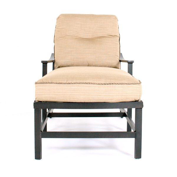 Ellington chaise lounge chair front view