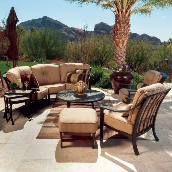 Mallin Ellington deep seating patio furniture