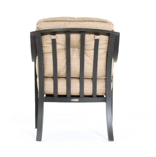 Ellington dining chair back view