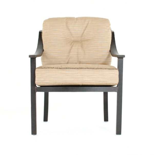 Ellington patio dining chair front view
