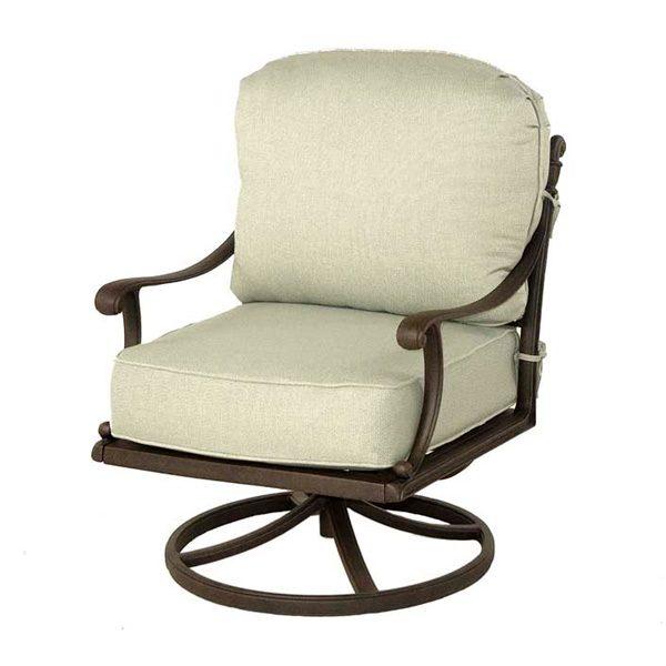 Hanamint Grand tuscany swivel rocker club chair
