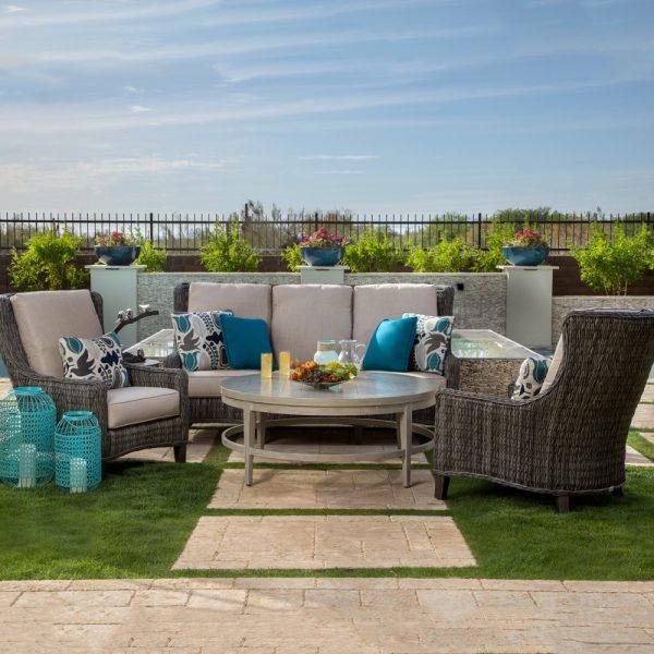 Geneva outdoor wicker patio furniture