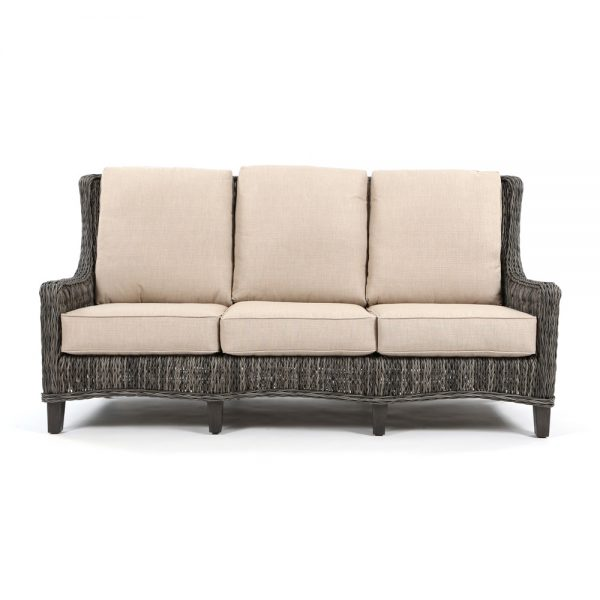 Ebel Geneva outdoor sofa front view