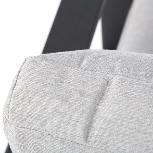 OW Lee Gios lounge chair with Sunbrella Canvas Granite cushions